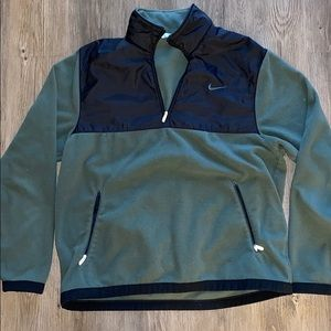 Nike Quarter Zip Fleece - Green